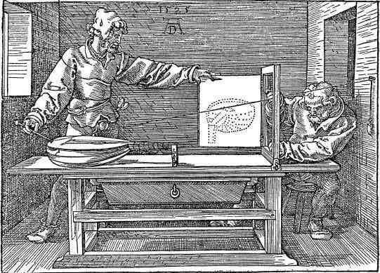 Albrecht Durer_Fenêtre de Durer_gravure