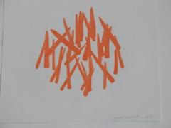 Anne Ramsden, Peeling Carrots, 2005
