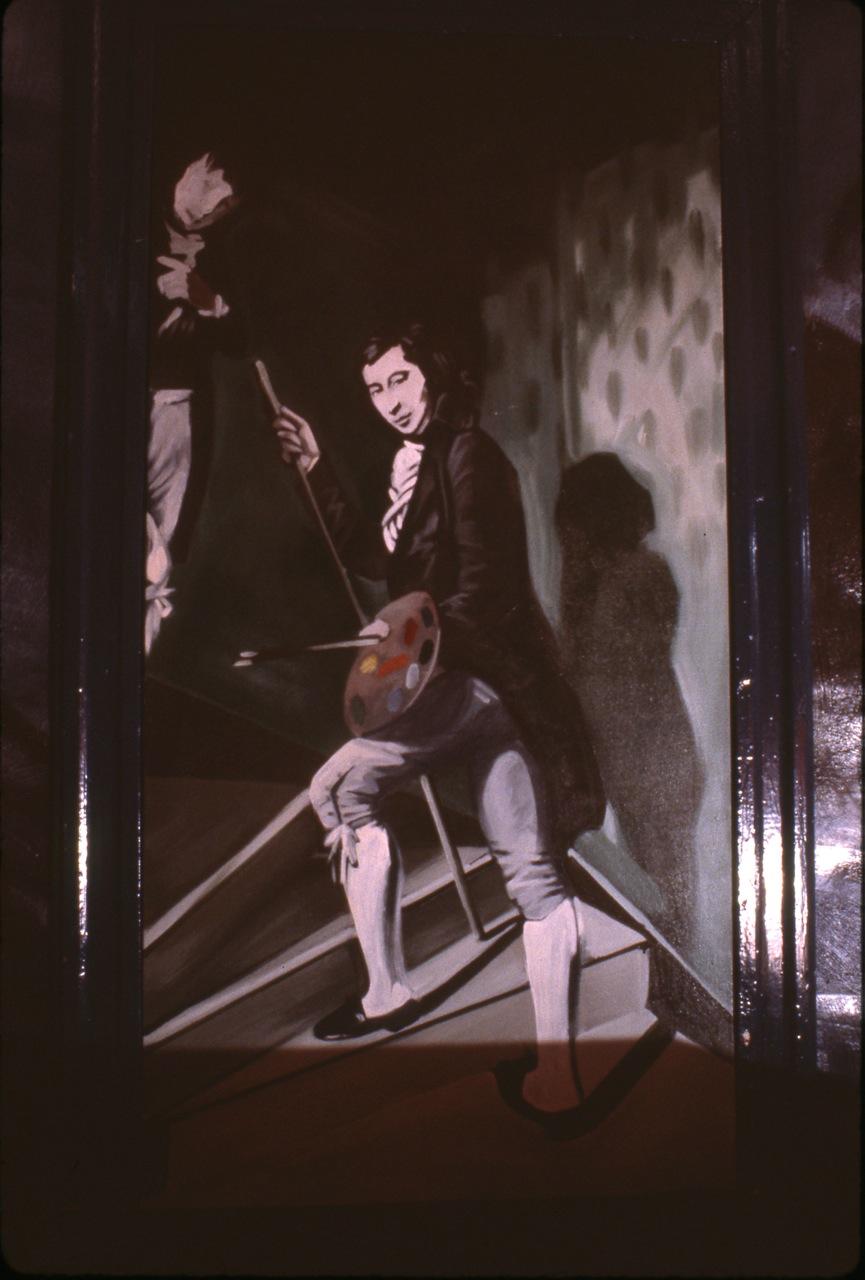 Pierre Dorion_L'atelier blanc_1984_Entrée_detail