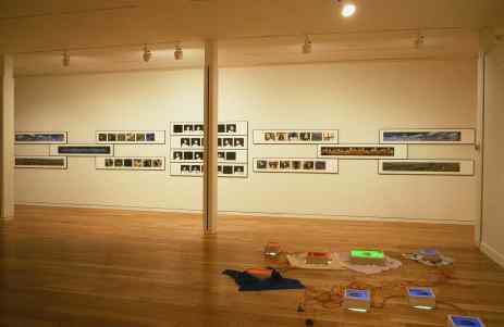 Avant-Plan : Jin-me Yoon, Imagining Communities (bojagi), 1996.