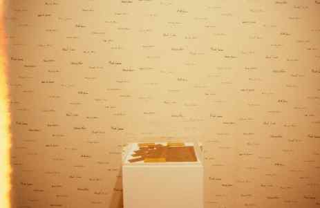 MIcah Lexier, Wallpaper, 1992, Installation