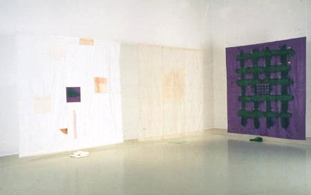 Voiles, installation, Claire Beaulieu