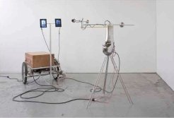 Pascal Dufaux, Oracle (Sculpture vidéo-cinétique | Video-kinetic Sculpture 4), 2012