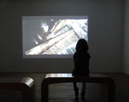 Lauri Astala, Transit, 2013 (vue de l'exposition à Oboro, photo S. Chassay)