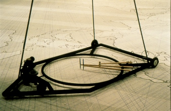 Alan Storey, Machine for Drawing Over the World, 1996