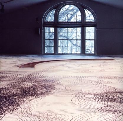 Alan Storey, Machine for Drawing of the Prairies, 1989