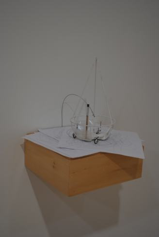 Alan Storey, Shipping Crates Drawings, 2005-2010 (photo:Steve Deschênes)
