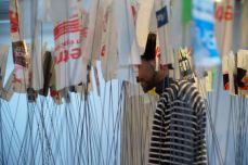 Ludovic Boney, Afin d'éviter tous ces noeuds, 2017. Installation, OBORO, Montréal (détail)