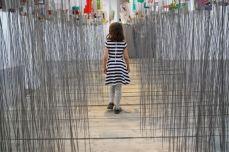 Ludovic Boney, Afin d'éviter tous ces noeuds, 2017. Installation, OBORO, Montréal